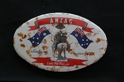 Australian Anzac Badges- Simpson and His Donkey