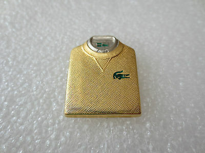 Very Rare High Quality LACOSTE Fashion Clothing Pin Badge Arthus Bertrand Paris