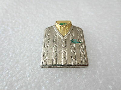 Very Rare High Quality Lacoste Fashion Clothing Pin Badge Arthus Bertrand. Paris