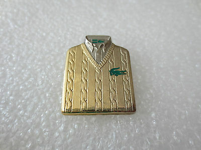 Very Rare High Quality Lacoste Fashion Clothing Pin Badge Arthus Bertrand, Paris