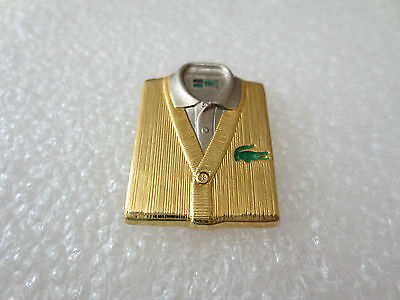 Very Rare High Quality Lacoste Fashion Clothing Pin Badge, Arthus Bertrand Paris