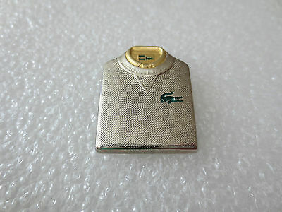Very Rare High Quality Lacoste Fashion Clothing Pin Badge. Arthus Bertrand Paris