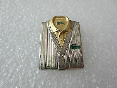 Very Rare High Quality LACOSTE Fashion Clothing Pin Badge Arthus Bertrand Paris.