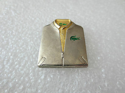 Very Rare High Quality Lacoste Fashion Clothing Pin Badge Arthus Bertrand Paris: