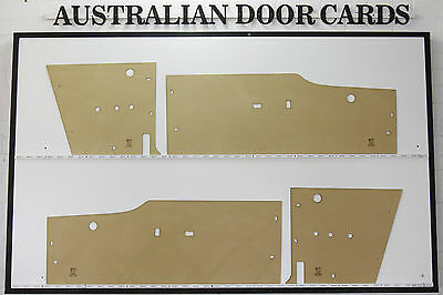 Ford Falcon XM,XP Door Cards Suit Coupe Deluxe Hardtop Futura. Blank Trim Panels
