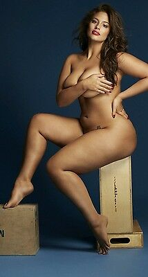 ASHLEY GRAHAM 'Milk' artistic PHOTOGRAPH 25 - quality glossy A4 print