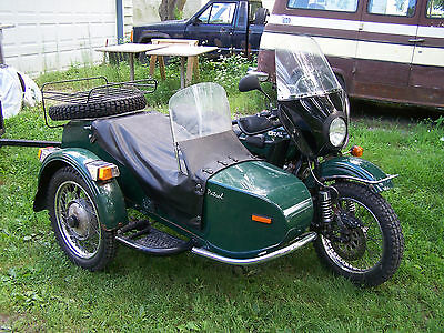 2009 Ural Patrol  2009 Ural Patrol 2wd with side car two wheel drive sidecar with snow tires