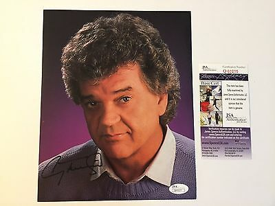 Conway Twitty Signed 8X10 Jsa Coa Autograph Photo Hello Darlin Country Singer