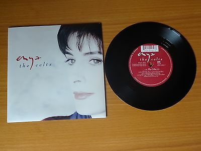 "Enya - The Celts : Rare Ex+ Uk Picture Sleeve 7"" Vinyl Single (1992) - Yz705"