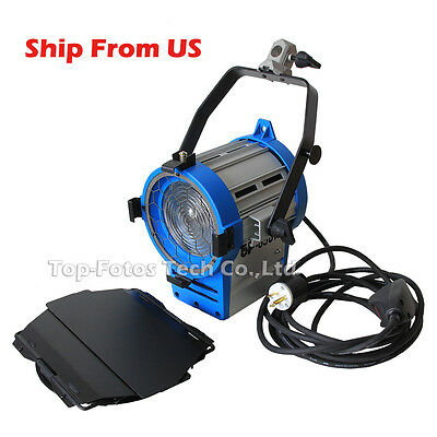 Ship from USA Upgrade! 650W Fresnel Tungsten Spot continuous Lighting 5 m cable