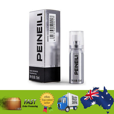Peineili Natural Premature Ejaculation Delay Spray Prolong Sex Numbing Spray