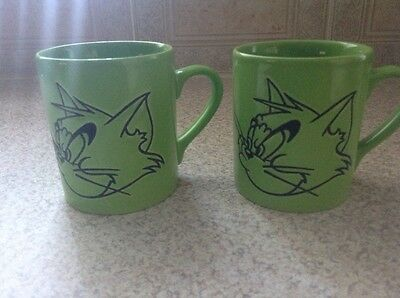 Vintage Tom And Jerry Mugs X 2