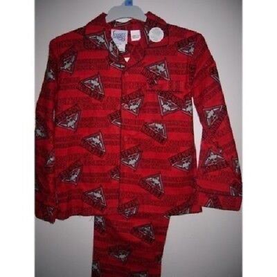 Essendon Bombers Official AFL Winter Pyjamas Youth Size 12, 16