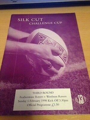 1998 Featherstone Rovers V Woolston Rovers - Challenge Cup