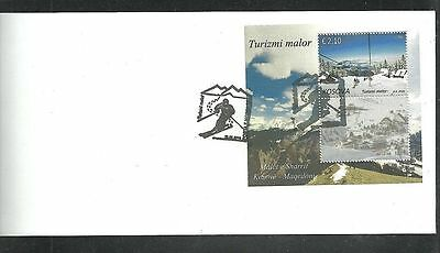 KOSOVO 540  2016 Mountain tourism, Joint issue with Macedonia FDC block