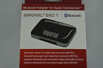 Imperial BAD 1 Bluetooth Audio Adapter für iPhone/iPod-Docking Station (30 PIN)