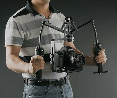 Camera Handheld Stabilizer Video Gimbal Steady Holder for Canon Nikon Sony BMPCC