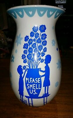 "26Cm Rob Ryan ""please Smell Us"" Vase"
