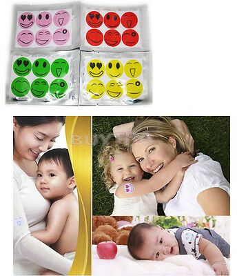 Great Easy to Carry Baby mosquito drive midge stickers Repellent Bracelet J7O
