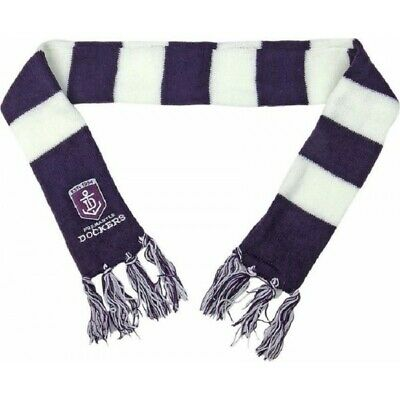 Fremantle Dockers Official AFL Chunky Baby Infant Winter Scarf