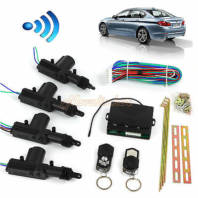 Remote Car Control Central Lock System Auto Locking Security Keyless Entry Kit