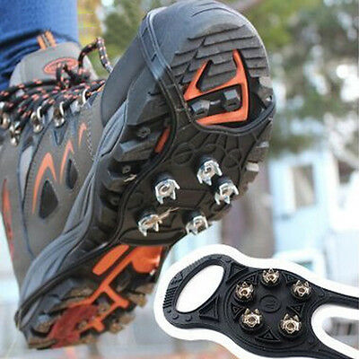 Walking Cleat Ice Gripper Anti Slip Ice Snow Walking Shoes Spike Grip 5 claw