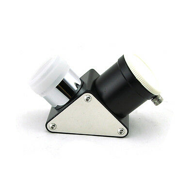 "1.25"" 31.7mm 90 degree star Metal diagonal mirror for telescope eyepiece dust"