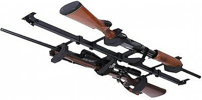 Big Sky Bar Racks SBR2G Vehicle Car Roof Shotgun Rifle Gun Mount Rack, 2-Gun New