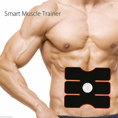 ABS Sixpad Training Gear Body Fit Electrical Muscle Stimulation Healthy Relaxing
