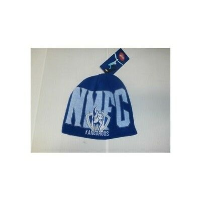Nth Melbourne Kangaroos Official AFL Youth Supporter Beanie