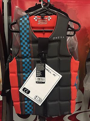 O'Neill Wetsuits Checkmate Comp Vest Wakeboard Waterski Wakesurf
