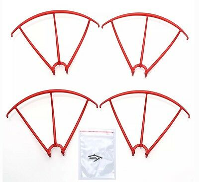 Syma X5C Quadcopter Propeller Protector Blades Frame Guard Spare Parts Red