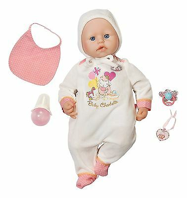Zapf Creation Baby Annabell Charlotte Doll With Accessories Toy Playset Age 2+