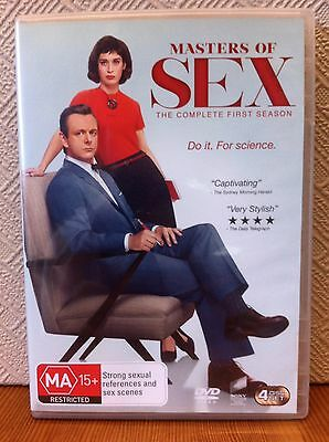 Masters Of Sex Complete First Season 1 DVD (4 Disc Set) AUS Region 4