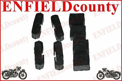 Petrol Tank Rubber Buffer Set Of 8 Units For Lambretta Scooter  @cad