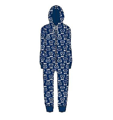 Geelong Cats Childrens Microfleece Hooded Onesie AFL Official Genuine