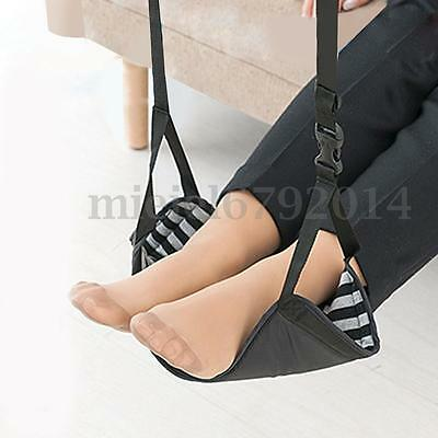 Feet Hammock Mini Foot Rest Stand Office Desk Portable Funky Designed For Relax