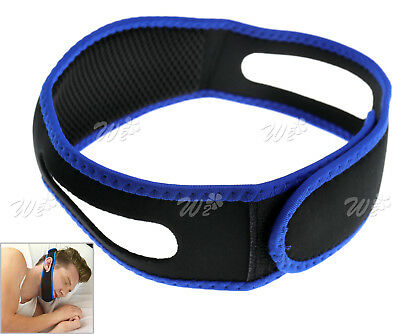 Anti Snoring Chin Strap Jaw Belt Anti Snore Sleep Straps Apnoea Stopper Solution