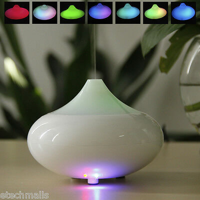 Electric Aroma Diffuser LED Ultrasonic Humidifier Air Aromatherapy Essential Oil