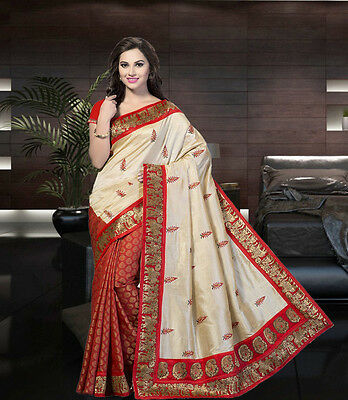 Bollywood Ethnic Designer Saree Party Wear Sari Women Indian Pakistani Saree