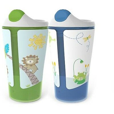 Born Free 10 oz Sippy Cup BPA-Free 2-Pack Neutral