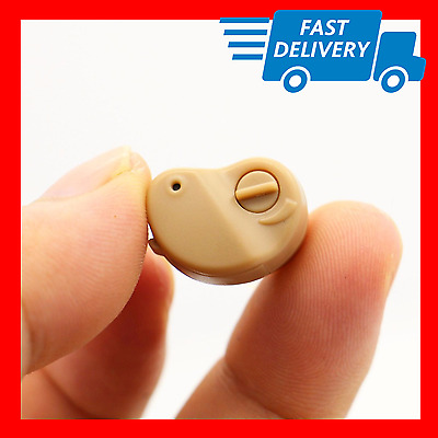 Hearing Aid Aids ITE Best Sound Amplifier Adjustable Tone Stealth Invisible K