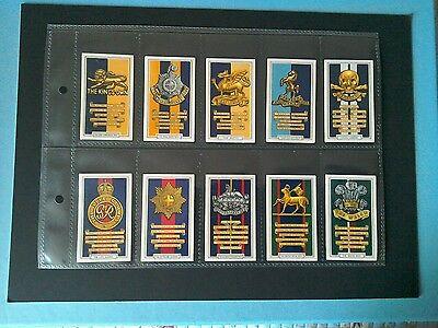 Gallaher, 1939   Army. Badges .   Full -Set. Of 48 Cards.