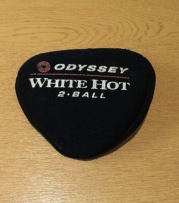 CALLAWAY/ ODYSSEY GOLF White Hot 2 Ball Putter Cover RRP new £15
