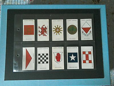 J.  Player. Army Corps & Divisional Signs 1914-118. (150 Cards) The 2 Sets.