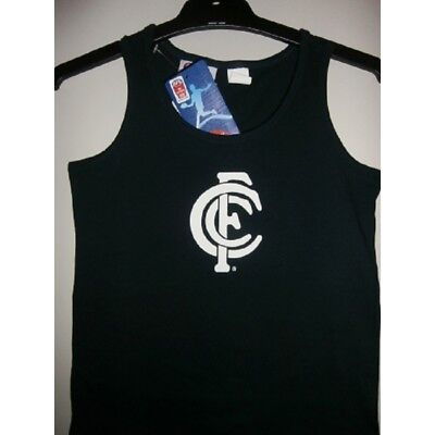 Carlton Blues Official AFL Boys Cotton Underwear Singlet FREE POSTAGE
