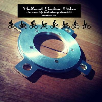 Bafang BBS01 BBS02 104 BCD chainring adapters w/bolts. CNC cut.