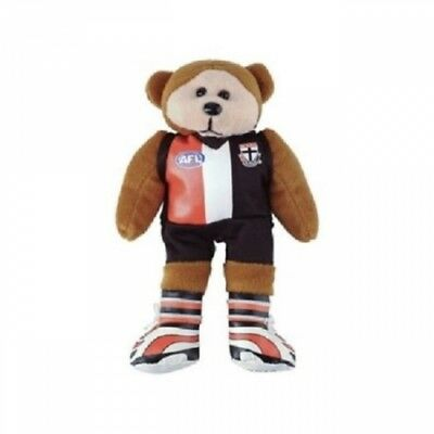 Scotty the St Kilda Saints Bear - Official AFL Beanie Kid