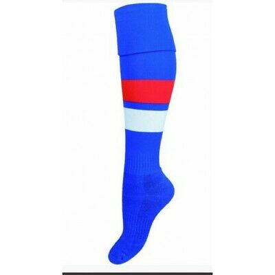 Western Bulldogs Official AFL On Field Footy Socks Kids