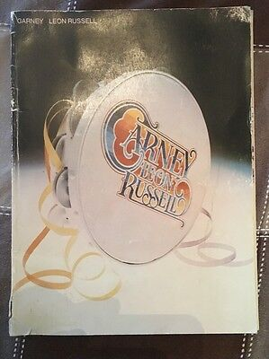 Leon Russell Rare Vintage Songbook 1973 Carney